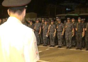 В Краснодар после служебной командировки вернулся сводный отряд МВД