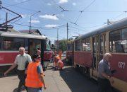 В Краснодаре из-за ДТП приостановили движение трамваев в два микрорайона