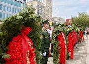 В Краснодаре прошла первая патриотическая акция «Горсть Памяти»
