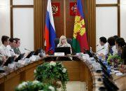 В Краснодаре Анна Минькова встретилась с молодежным активом Кубани