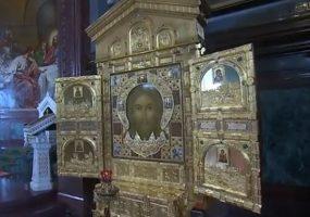 На Кубань прибудет икона главного храма ВС России Спас Нерукотворный