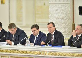В Москве Вениамин Кондратьев обсудил развитие кубанских дорог
