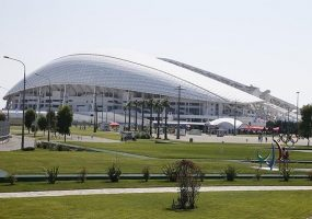 На стадионе «Фишт» в Сочи ожидают более 30 тыс. болельщиков