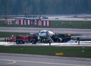 МАК обнародовал предварительный отчет по авиакатастрофе в Шереметьево