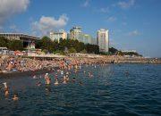 В Сочи температура морской воды в июне достигла рекордных отметок