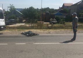 В Темрюке в ДТП с легковушкой погиб мотоциклист