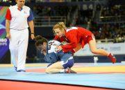 Самбистка из Армавира завоевала золото Европейских игр