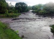 В Отрадненском районе после дождя затопило станицу