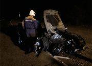 В Горячем Ключе в ДТП у машины оторвалась крыша, водителя зажало в салоне
