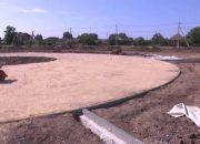 В Ейском районе реконструируют парк Победы