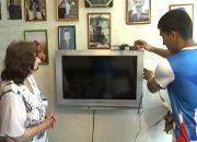 В Сочи 93-летней пенсионерке волонтеры настроили «цифру»