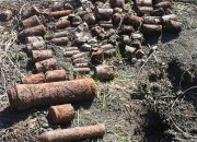 Тротиловые шашки и минометные снаряды времен войны уничтожили на Кубани