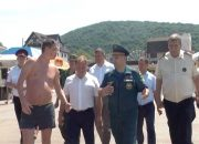 Сотрудники МЧС провели рейд безопасности по пляжам Архипо-Осиповки