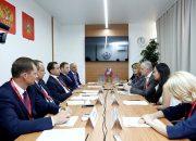 Вениамин Кондратьев встретился с президентом «Магнита» Яном Дюннингом