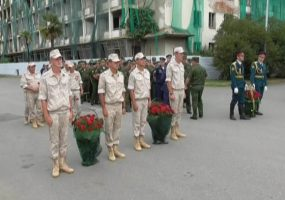 Военнослужащие ЮВО отметили 25-ю годовщину ввода миротворцев в Абхазию