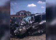 Под Краснодаром произошло ДТП с тремя иномарками