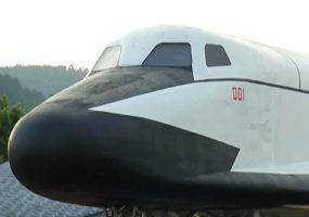 В Геленджике установили макет легкого космического самолета