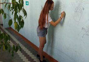 Школьники Ленинградского района запустили «Реорганизацию школьного пространства»