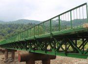 В Туапсинском районе завершили строительство нового моста через реку