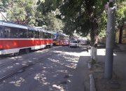 В Краснодаре из-за поломки встали трамваи в районе вокзала Краснодар-1