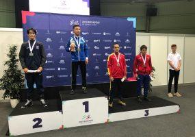 Борец из Славянского района завоевал бронзуВсемирных игр боевых искусств
