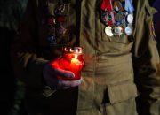Патриотическая акция «Свеча памяти» в Краснодаре