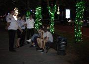 В Славянске-на-Кубани полицейские и казаки провели рейд по «детскому закону»