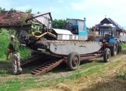 В Приморско-Ахтарском районе провели испытания болотохода