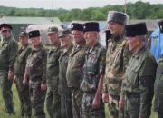 В Новороссийске прошли военные сборы казаков Черноморского округа