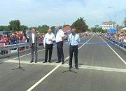 Как открывали новый мост в Абинском районе