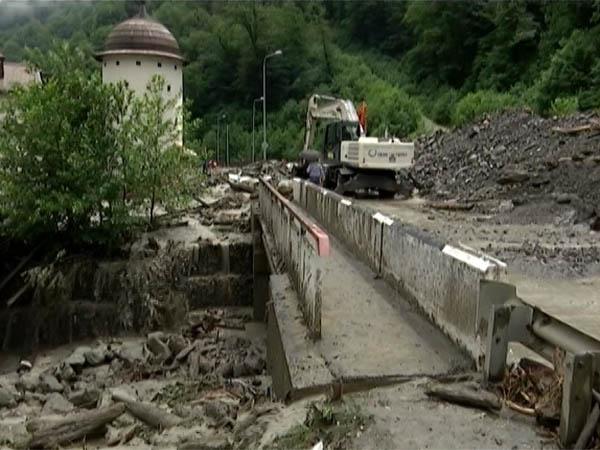 В горах Сочи за ночь 24 июня выпало рекордное количество осадков: 50-70 мм