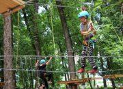 В Тбилисском районе появился веревочный парк