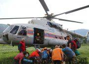 Спасатели вертолетом эвакуировали с горы Фишт сломавшего обе ноги туриста