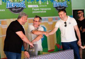 Праздничная акция «Первого радио Кубани» ко Дню России в Краснодаре