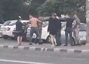 В Новороссийске пьяные мужчины устроили потасовку по дороге из ночного клуба