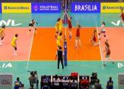 Как сборная России по волейболу выступила во втором туре Лиги наций