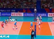Сборная России по волейболу проведет заключительный матч Лиги наций с Польшей