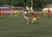 В Туапсе прошли отборочные игры Кубка губернатора по футболу