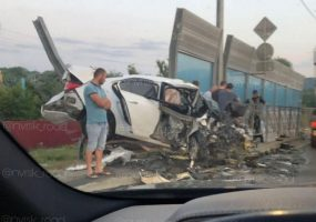 Под Новороссийском в лобовом ДТП погибли два человека