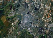 Российский космонавт Рязанский сфотографировал Краснодар с орбиты