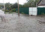 В Отрадненском районе ливень подтопил 15 огородов