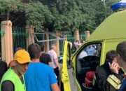 Кубанские врачи оказывают помощь пациентам после ДТП на остановке в Сочи