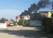 В Краснодаре потушили пожар на крыше недостроенного дома