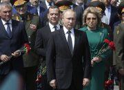 Путин почтил память павших в Великой Отечественной войне