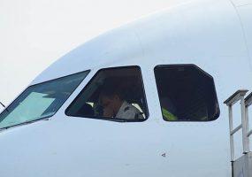 Самолет из Анапы при посадке ушел на второй круг из-за вертолета