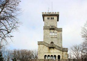 В Сочи на неопределенный срок закрыли смотровую башню на горе Ахун