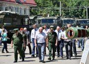 В Краснодаре впервые открылся военно-технический форум «Армия-2019»