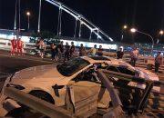 В Сочи в ДТП погиб водитель иномарки и пострадали три пассажира