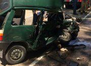 В Гулькевичском районе в машине во время ДТП зажало девочку