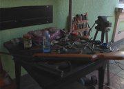В Краснодаре закрыли подпольный цех по изготовлению боевого оружия